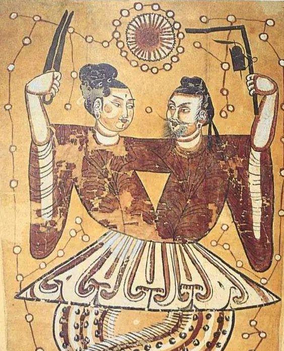 汉代伏羲女娲图像规矩配置考